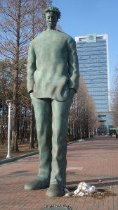 Yeungnam University Statue
