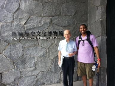 My 1st friend in Japan