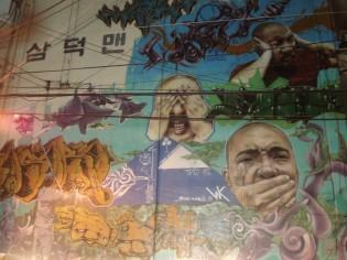 Graffiti, Daegu, Korea, 2010