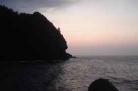 Sunrise on Ulleung Island, Korea, 2012