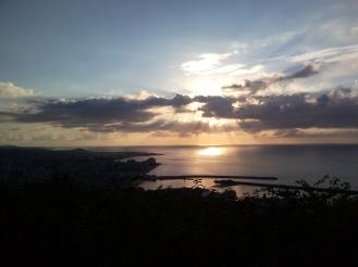 Sunset on Jeju Island, 2010