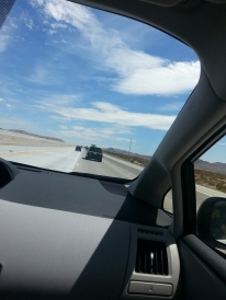 Boooorrrriinnggg, but beautiful drive to Vegas.