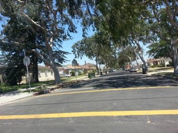 A street in L.A.