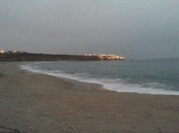 La playa de Pulpos en Punta Hermosa