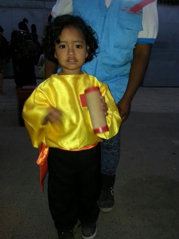 Valiente's youngest pupil, Denzel