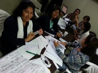 Nancy, Elena, Sandra, Socorro-Denisa, Shirley, & Jessica (from left to right)